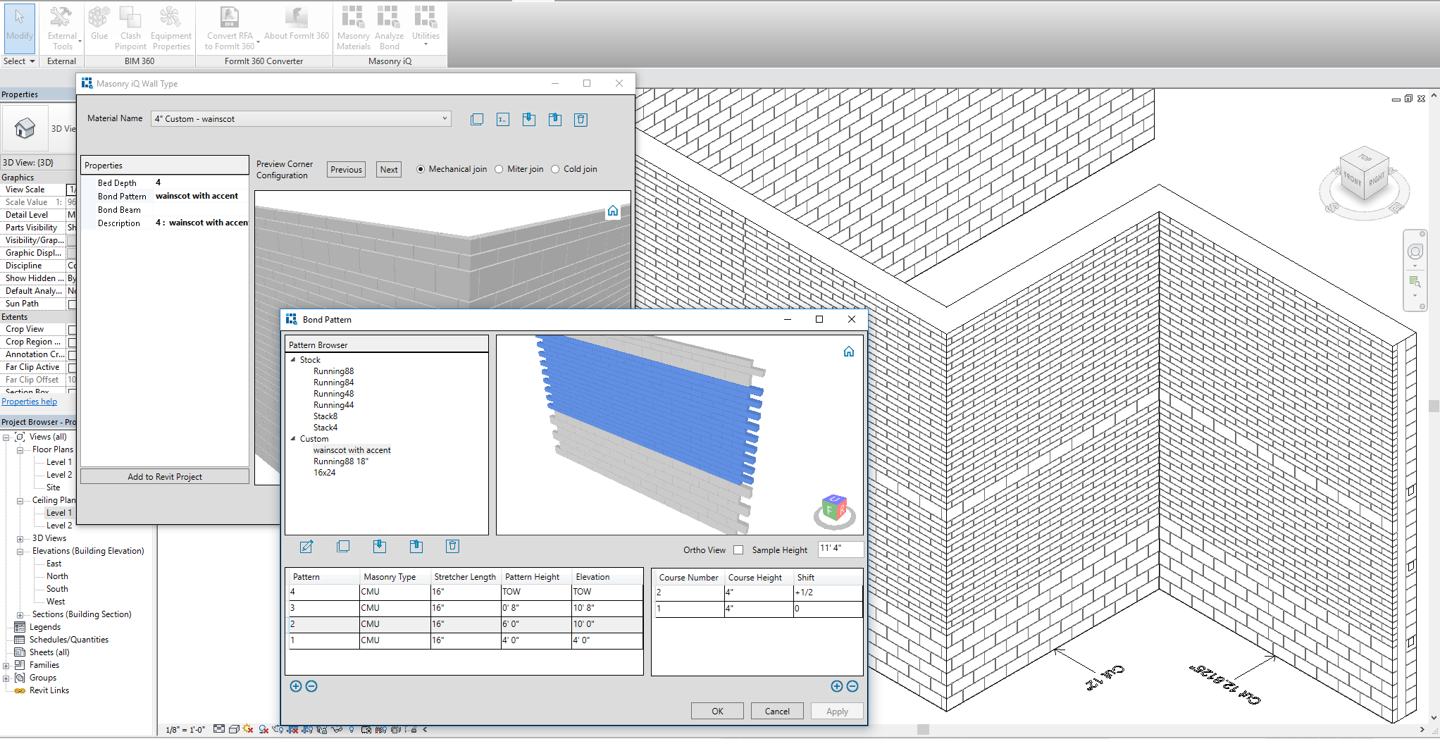 Masonry iQ for Revit 19 17 0 1 Download - ArchSupply com