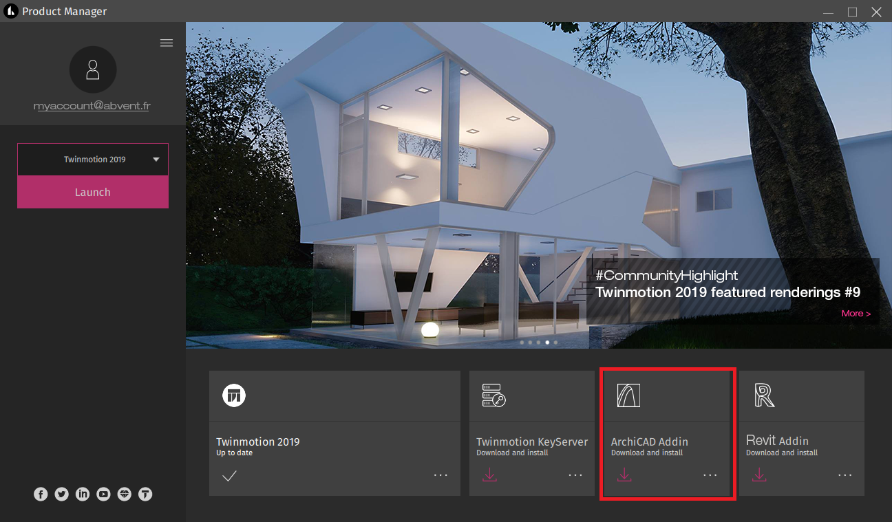 Twinmotion Direct Link for ARCHICAD 1 2b15 Download