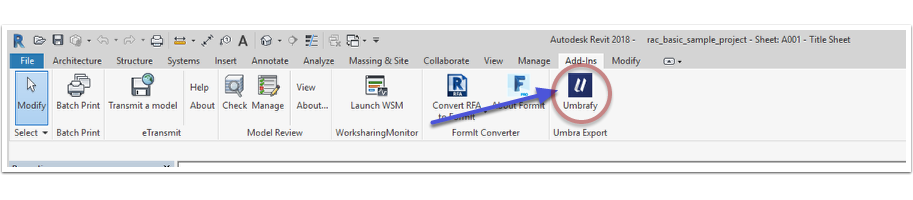 Umbra Composit for Revit 1 6 14 Download - ArchSupply com