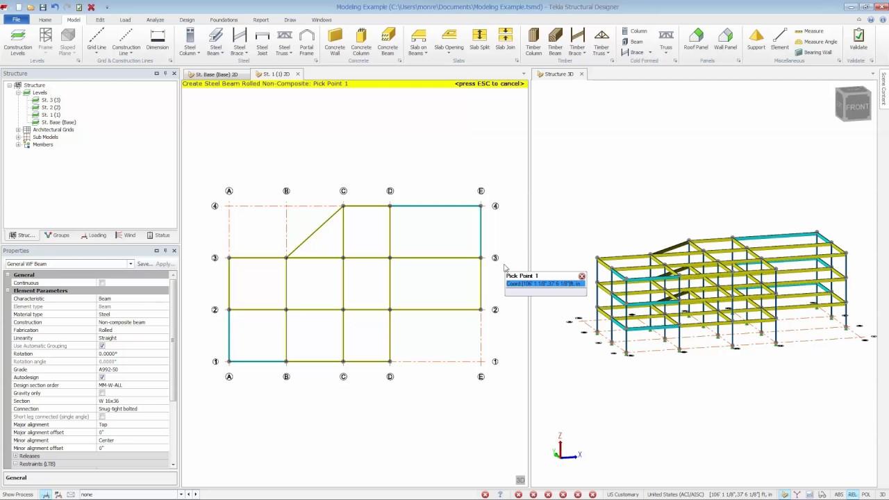 Tekla Structural Designer 2019i Sp3 Download Archsupply Com